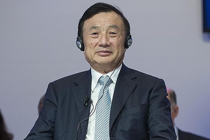 Mr Ren Zhengfei started Huawei in 1987 with a staff of three and the equivalent of US$5,000 and built it into a multibillion-dollar behemoth.