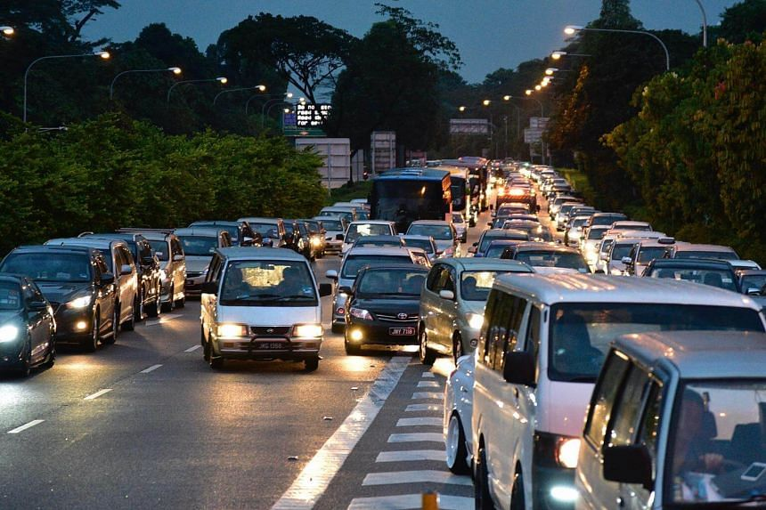 Some netizens said there were stuck in jams for about six hours at the Tuas Checkpoint on Friday evening and early Saturday morning, while others said they were in four to five hour jams at the Woodlands Checkpoint on Saturday afternoon.