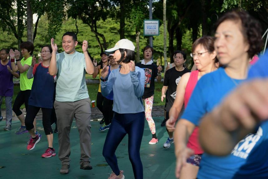More support for disadvantaged groups to adopt healthier lifestyles: HealthySG Taskforce