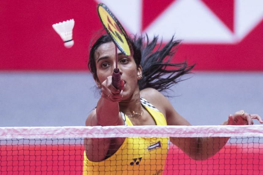 India's P.V. Sindhu sealed the championship with a forehand smash in the World Tour Finals on Dec 16, 2018 in Guangzhou, China. She beat Nozomi Okuhara of Japan, last year's world champion, 21-19, 21-17.