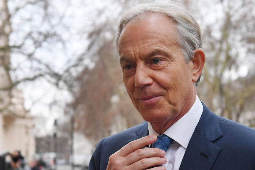 Former Labour party leader Tony Blair opposes Brexit and has stepped up calls for the public to vote again.