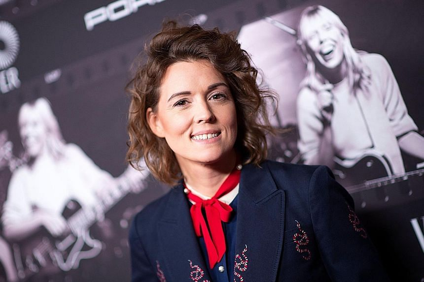 Folk and Americana singer-songwriter Brandi Carlile describes herself as a chicken farmer who has not won anything in her life.