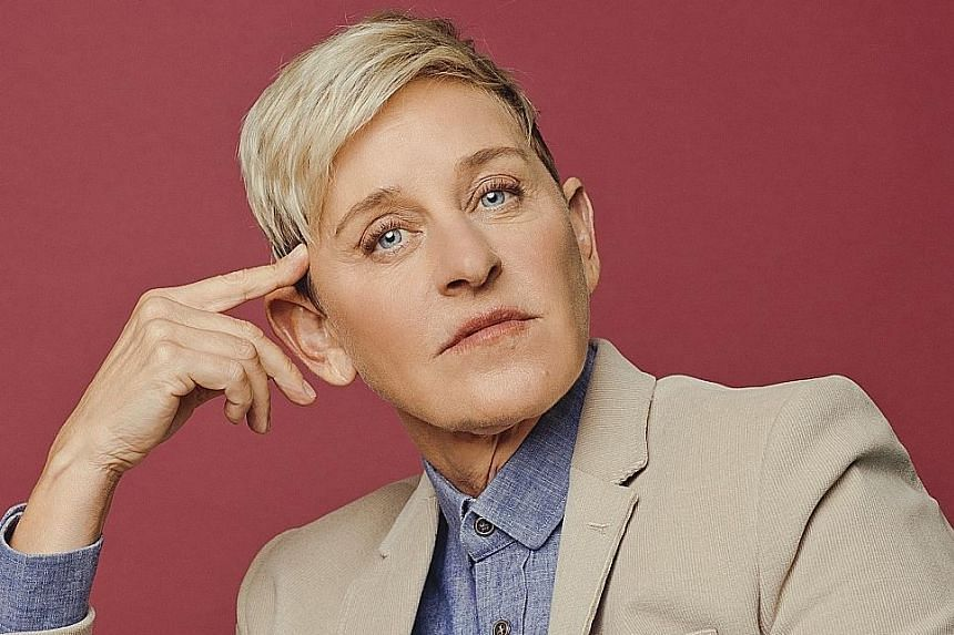 In her new special, Ellen DeGeneres presents herself as cartoonishly aloof and indifferent, stuck in a privileged bubble and cracks jokes, for instance, about her wealth.