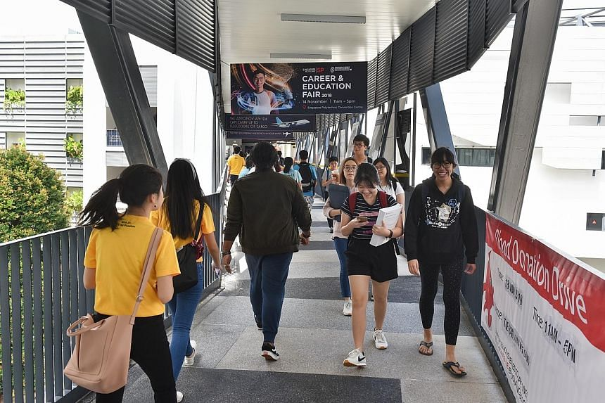 With the change, the polytechnics will take into account the job experience of working adults applying for full-time courses, even if they do not meet the cut-off in terms of academic points.