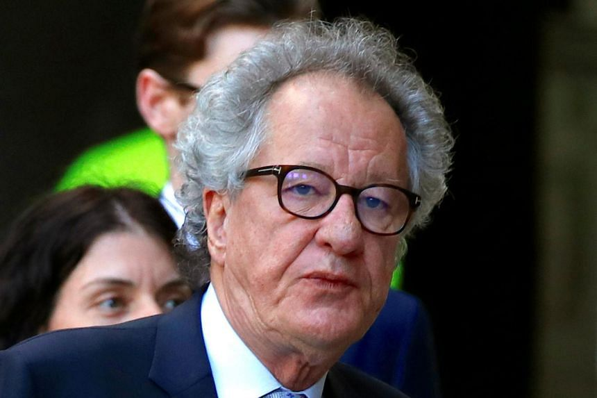 "Geoffrey Rush said in a statement that the allegations were ""incorrect and in some instances have been taken completely out of context""."