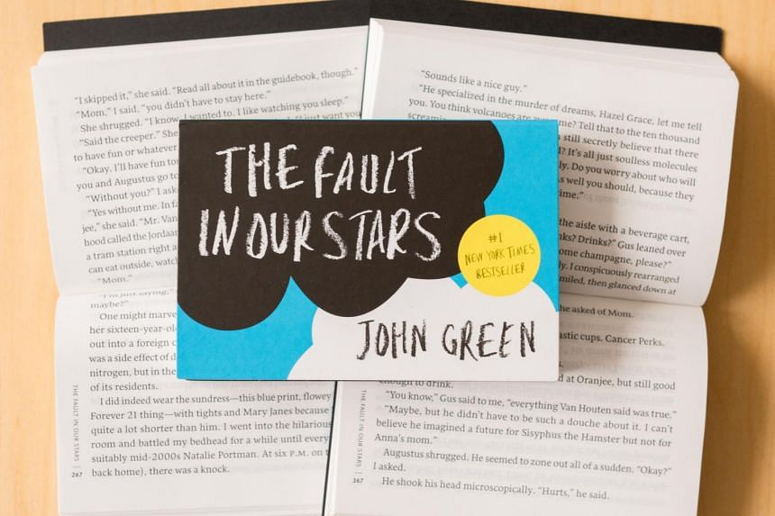 A Penguin Mini edition of John Green's The Fault In Our Stars.