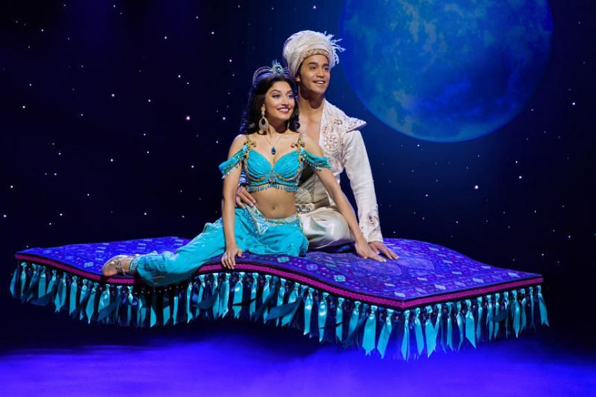 Broadway musical Aladdin will be staged at Marina Bay Sands in July 2019.