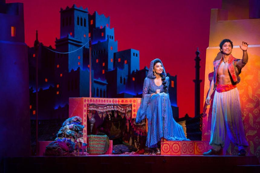 The musical will feature five songs from the movie's Academy Award-winning soundtrack - including the popular duet A Whole New World.