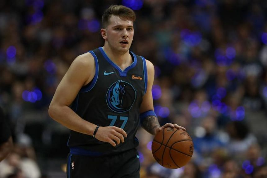 Mavericks' Luka Doncic is among the leading contenders for Rookie of the Year.