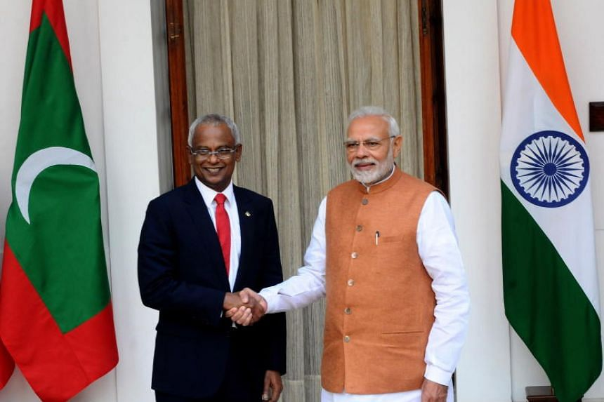 Indian Prime Minister Narendra Modi announced the aid, which includes a mixture of soft loans, currency swap and line of credit, after talks with visiting Maldivian President Ibrahim Mohamed Solih.