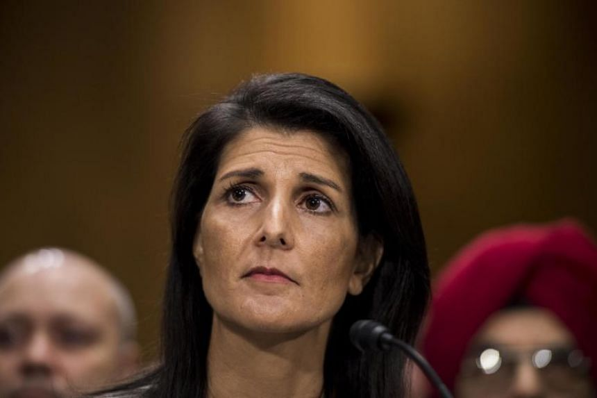 At a time when US President Donald Trump was seen as equivocating on how hard to criticise Russia, departing Ambassador Nikki Haley was outspoken in attacking Moscow.