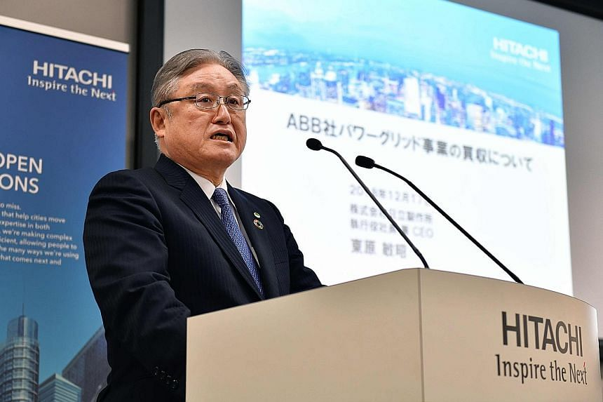 For Hitachi, the move is part of chief executive Toshiaki Higashihara's efforts to restructure the diversified company.