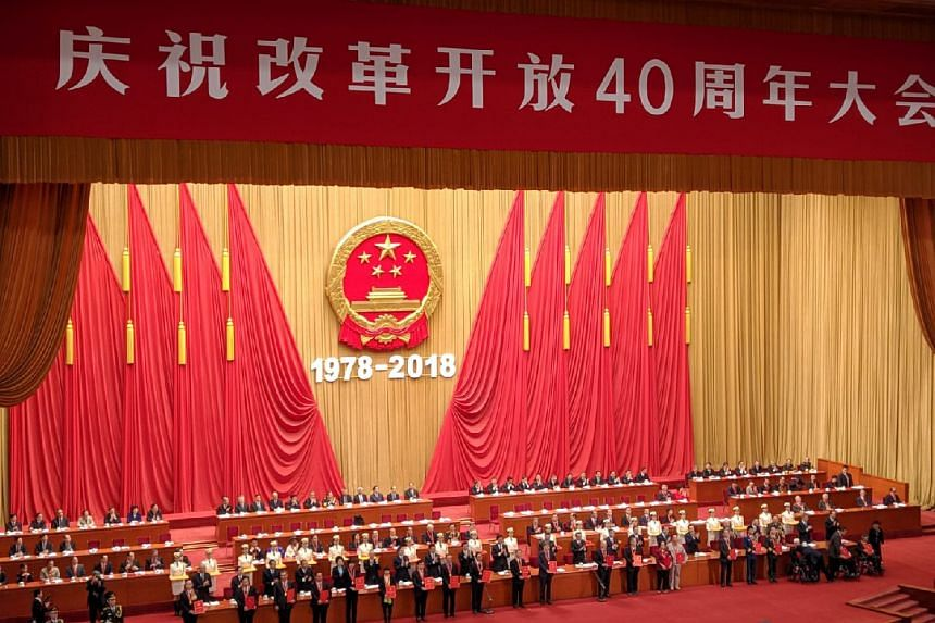 """China has become an economic superpower just four decades after the """"reform and opening up"""" policy was enacted."""