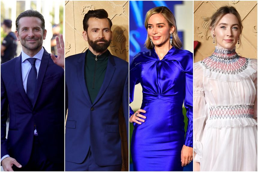 As shoppers gear up for the festive season, Reuters asked a number of stars such as (from left) Bradley Cooper, David Tennant, Emily Blunt and Saoirse Ronan, what their best and least-favourite Christmas gifts have been.