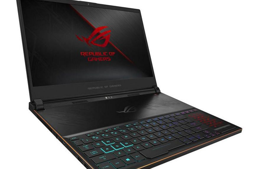 """The ROG Zephyrus S (GX531) is touted by Asus as the """"thinnest gaming laptop"""" in the market."""