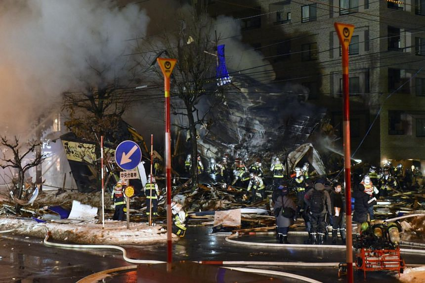 The force of the explosion shattered glass windows in at least 20 buildings, and damaged at least 26 vehicles.