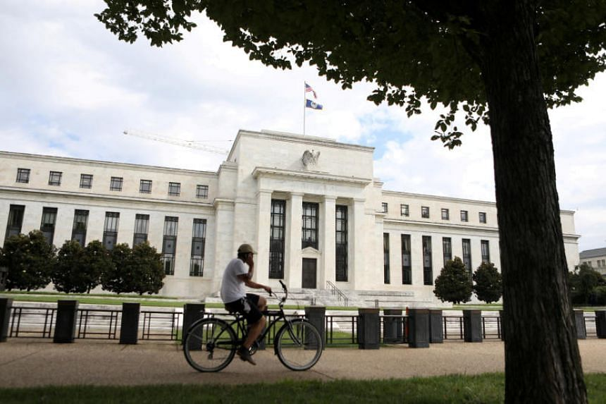 The Federal Reserve building in Washington, DC, US, on Aug 22, 2018.