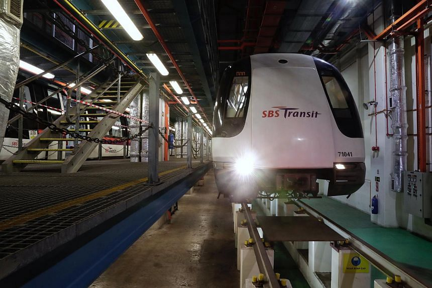 While the third-oldest MRT line is currently one of the island's most reliable, maintenance is being stepped up to ensure the system continues to run well with age.