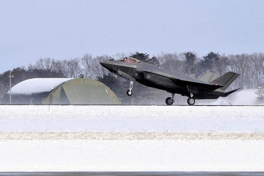 Japan plans to buy 45 Lockheed Martin Corp F-35 stealth fighters, worth about US$4 billion (S$5.5 billion).