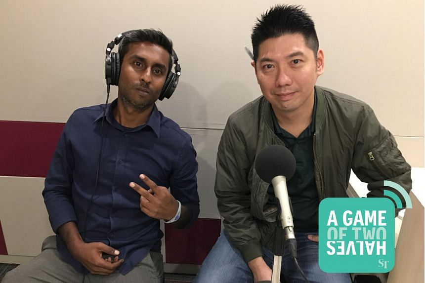 In this podcast, The Straits Times' sports journalists Shamir Osman (left) and Wang Meng Meng chat about the importance of man management in big teams like Manchester United and how Vietnam's Suzuki Cup win has more benefits beyond just football.