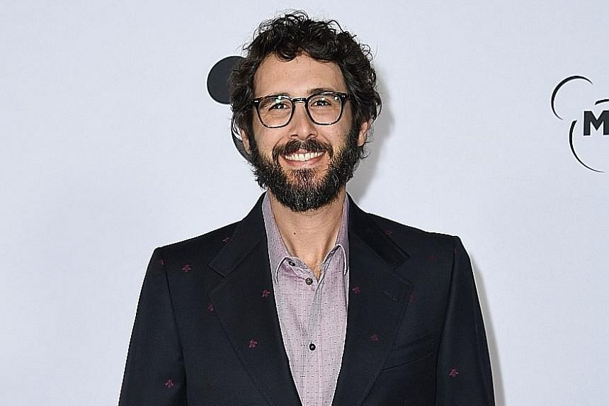 American singer Josh Groban will be accompanied by a full orchestra and choir during his debut concert in Singapore next year.