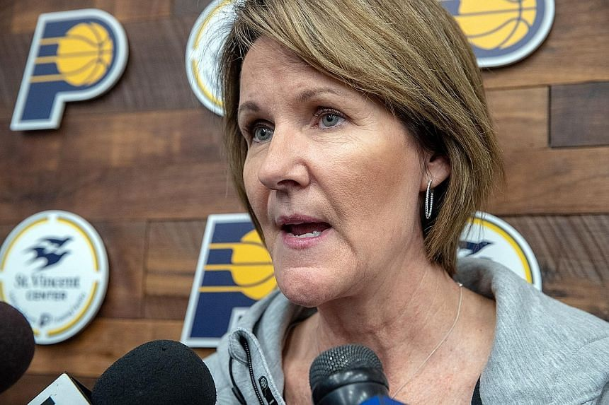 Kelly Krauskopf has joined the Pacers from the Indiana Fever, where she spent 19 seasons as the team's top executive.