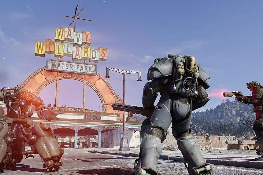 Fallout 76 is the first version of the game that allows multi-players.