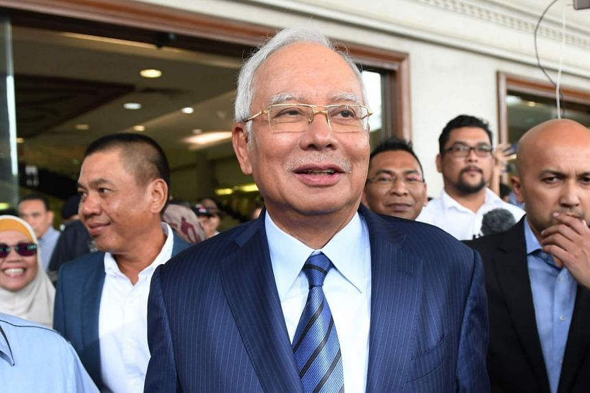 Former Malaysian prime minister Najib Razak stepped down as Umno president days after BN was defeated in the May general election.