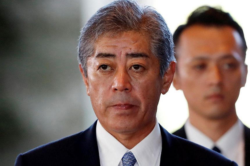 "Defence Minister Takeshi Iwaya said: ""Chinese activity in the East and South China seas has been gaining pace at an unimaginable speed. With our security environment changing at such a rapid pace, it is necessary for Japan to review our defence gui"