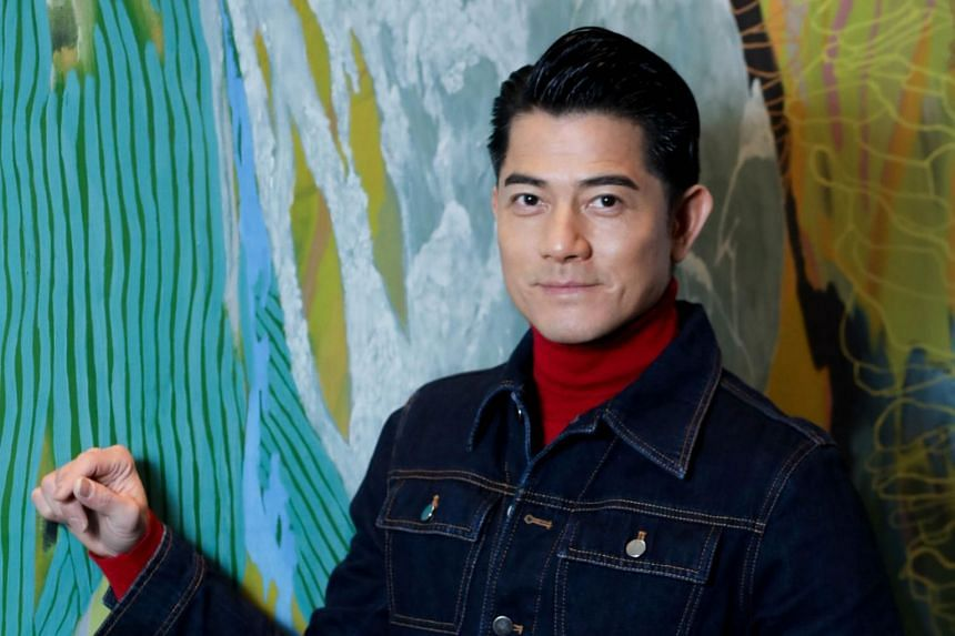 Aaron Kwok said he did not know the gender of his second child.