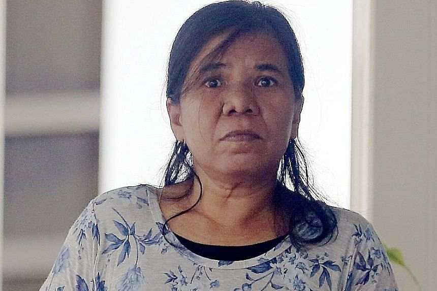 Rapiah Sari, 49, pleaded guilty to causing hurt to Madam Chia Gek Sim by riding her e-scooter in a negligent manner.