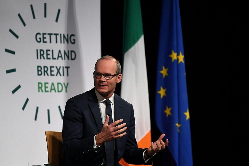 "Deputy Prime Minister Simon Coveney described the contingency plans as ""stark"", and added that a no-deal Brexit would place Ireland under much strain."