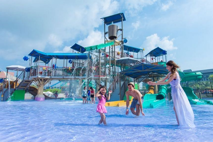With 13 water slides to choose from, Kids Ahoy is a great way to cool off with your little ones on a sunny day.