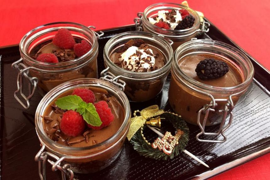Chocolate Mousse Trifle.