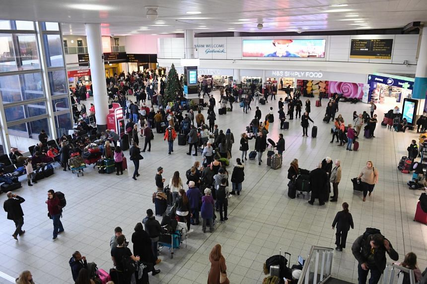 Gatwick's chief operating officer Chris Woodroofe could not say when flights would resume.