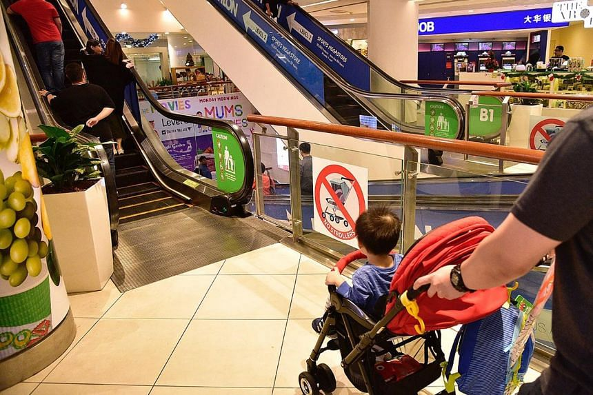 As part of an ongoing effort to curb errant behaviour on escalators, the Building and Construction Authority will encourage escalator operators to put up new posters and stickers on escalator safety.