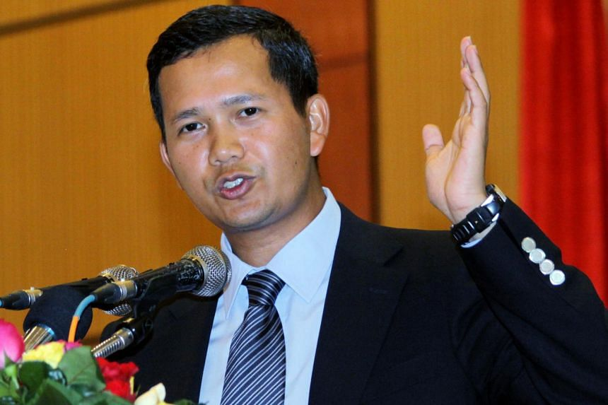 General Hun Manet, 41, was voted into the Cambodian People's Party permanent committee on Dec 20, 2018.