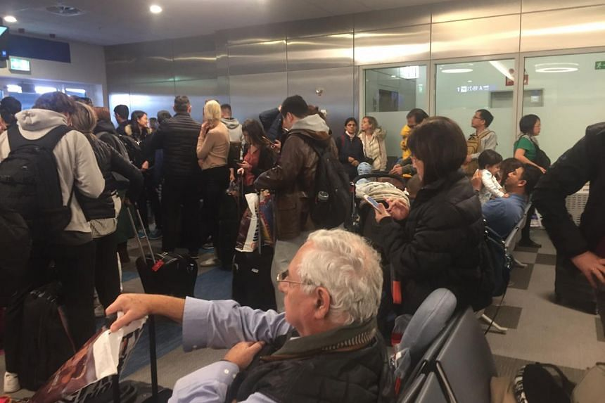Passengers stranded in Greece after a technical fault on the Boeing 787 plane led to multiple delays.