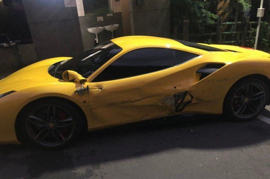 Donations flood in for overworked Taiwan driver who smashed into 3 Ferraris