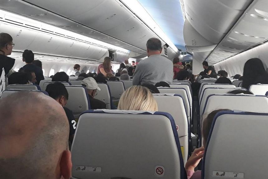 The passengers, including Singaporeans and those transiting in Singapore, took to social media to complain about having to board and disembark the plane several times.