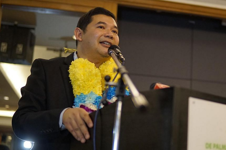 """""""Judging from online comments at major news portals, it is obvious that the country is highly polarised,"""" says former Parti Keadilan Rakyat vice-president Rafizi Ramli."""