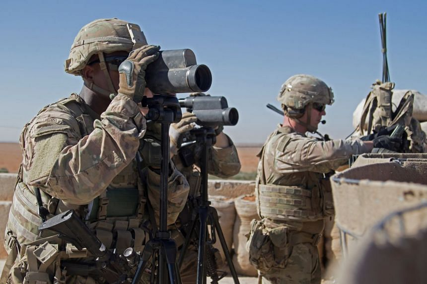 A complete withdrawal of US troops from Syria would still leave a sizeable US military presence in the region, including about 5,200 troops across the border in Iraq.