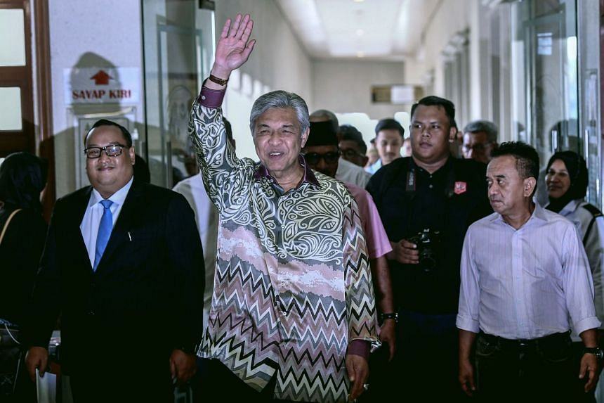 Ahmad Zahid was elected Umno president at the party election in June, but a recent exodus of Umno representatives and party members has cast doubt on his leadership.