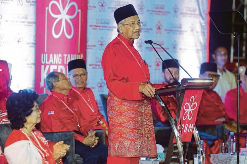"""We are accepting only those leaders who are not implicated and who have not shown very strong support for (former prime minister Najib Razak),"" said Malaysian Prime Minister Mahathir Mohamad."