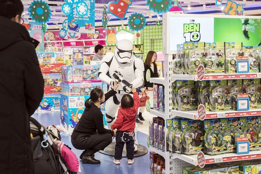 A Toys 'R' Us Asia store in Shanghai.