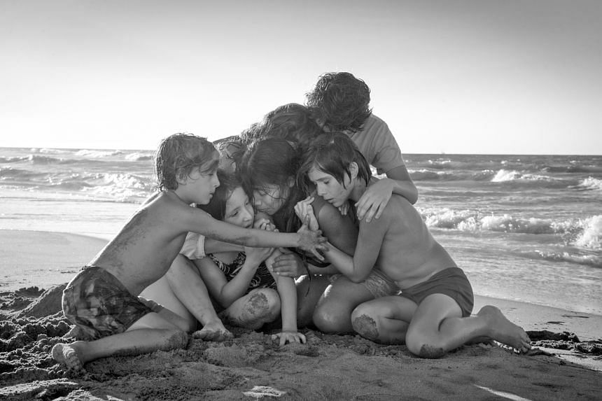 Writer-director Alfonso Cuaron shot his semi-autobiographical film, Roma, in black and white, portraying the ups and downs of a middle-class family in the Colonia Roma neighbourhood in Mexico City in the early 1970s.