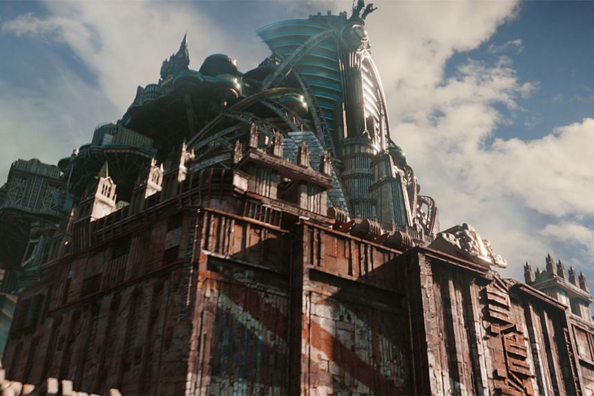 Mortal Engines is adapted from Philip Reeve's young adult book series, which does not have the name clout of a Hunger Games or Twilight in the United States.