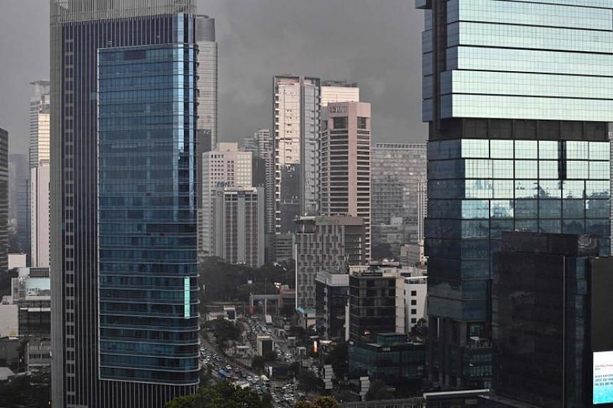 The city skyline of Jakarta. Indonesia can look back with pride at its record during the Cold War between the US and the Soviet Union, when it steered clear of the superpower conflict, refusing to be aligned with either.