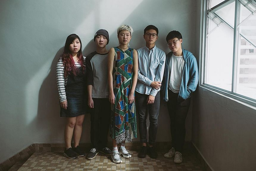 Dreampop band Cosmic Child.