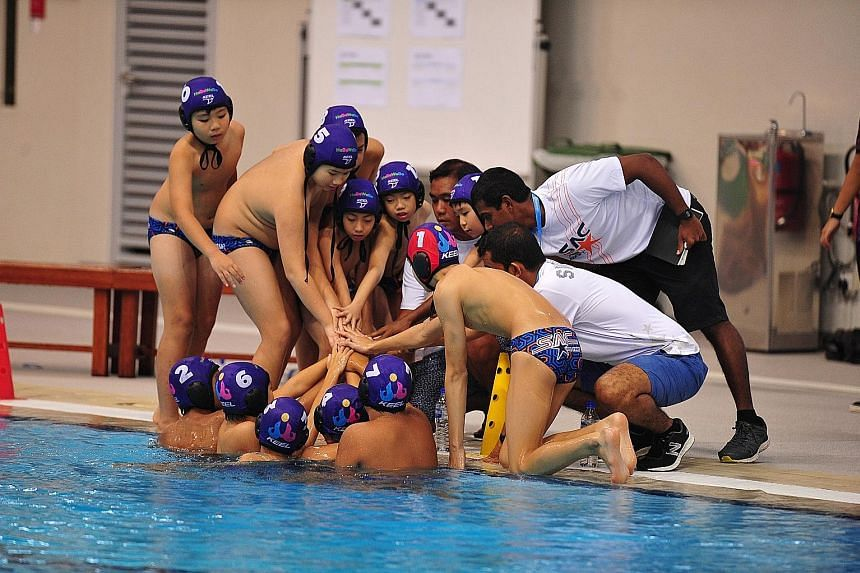 Participants at HaBaWaBa Asia - Singapore, an international water polo festival for children aged eight to 12. About 150 kids from six countries featured in the Dec 17-20 event at the OCBC Aquatic Centre. It was organised by a group that includes for